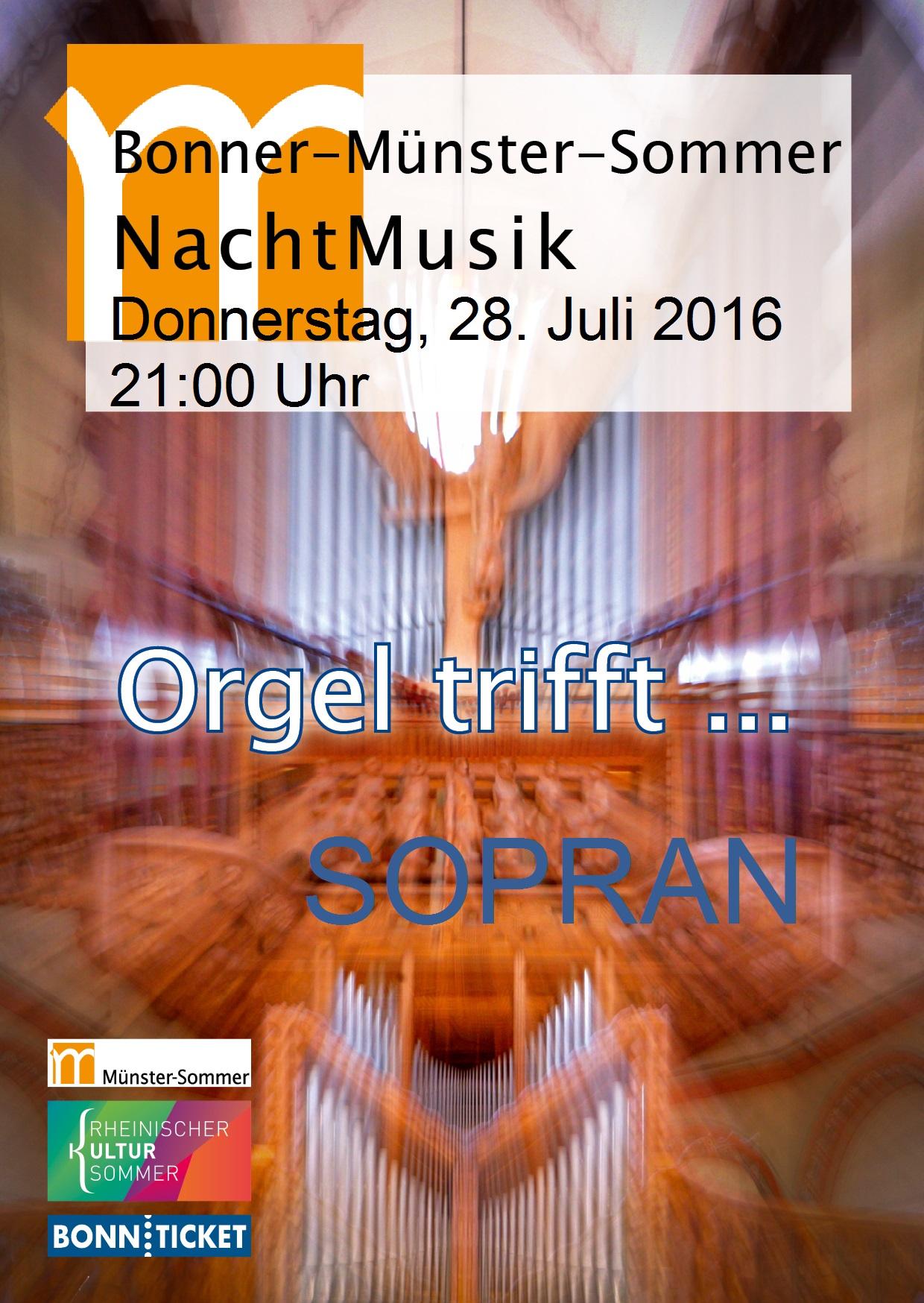 20160728 NachtMusik - Orgel trifft Sopran